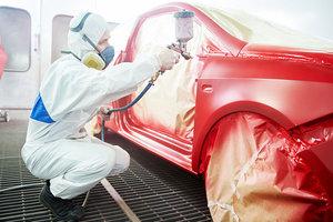 Покраска кузова автомобиля в Вологде