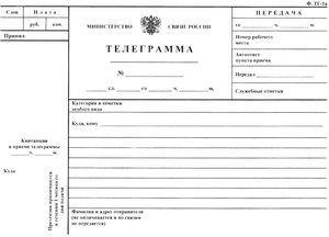 """Инструкция """"Телеграмма виновнику"""""""