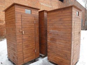 Туалет деревянный, дачный в Оренбурге