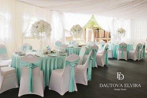 Оформление зала на свадьбу от студии свадебного дизайна