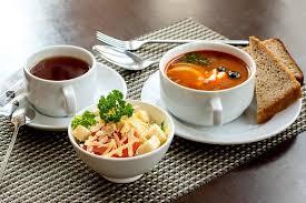 Бизнес-ланч в кафе «Русь»
