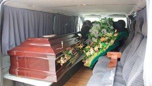 Услуги по перевозке тела умершего
