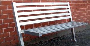 Металлические скамейки на заказ