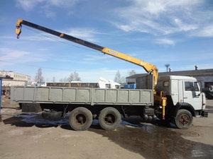Арендовать кран-манипулятор на базе МАЗ-43704 в Орске
