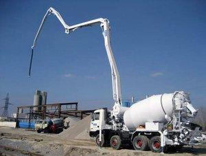 Услуги бетононасоса в Туле