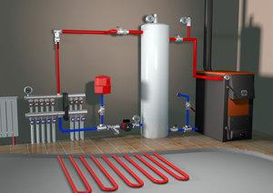 Разработка системы отопления частного дома