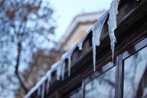 Почистим Вашу крышу от наледи и снега