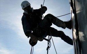 Промышленный альпинизм в Орске