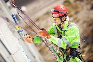 Промышленный альпинизм в Череповце
