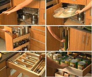 Мебель на заказ: функциональное наполнение кухни