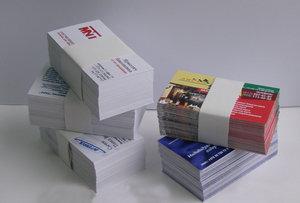 Печать и изготовление визиток в Вологде