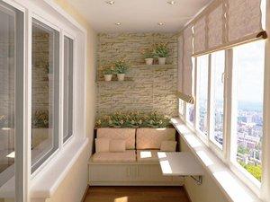 Утепление и отделка балконов и лоджий