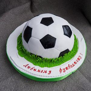 Торт для футболисту