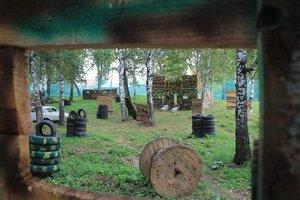 Пришла весна – время «зарубиться» в пейнтбол в Кемерово.