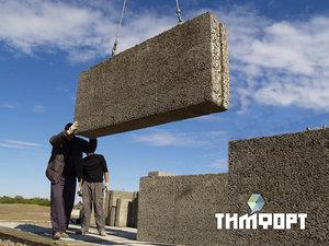 Стоимость строительства дома из материала «Тимфорт»