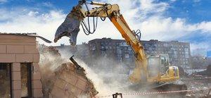 Демонтаж зданий в Вологде