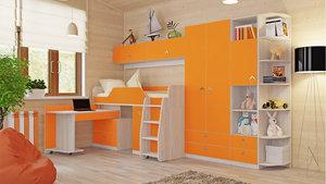Мебель для детской комнаты по доступной цене