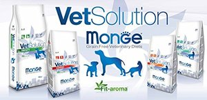 Ветеринарные диеты для кошек и собак VetSolution от МОНЖЕ (Италия)!!!
