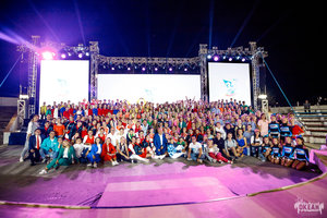 """С юбилеем, ВДЦ """"ОКЕАН""""! Ансамбль """"Калинка"""" поздравляет всемирно известный детский центр с праздником!"""