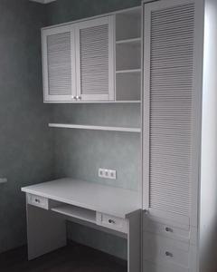 Изготовление мебели с жалюзийными дверями