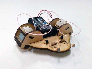 Робот, который бежит на свет!