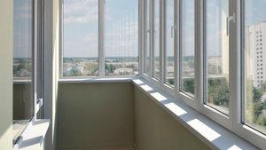 Остекление балконов алюминиевым профилем в Оренбурге!