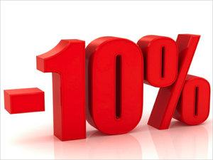 АКЦИЯ. Дарим скидку 10% на все виды фасадных работ!