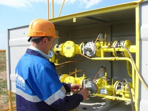 Обслуживание газопровода в Череповце