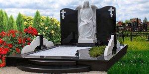Гранитный памятник на могилу в Орске