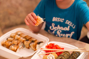 Бесплатная доставка суши в Красноярске