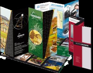 Изготовление рекламных буклетов на заказ