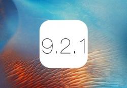 Обновление безопасности. Скачать iOS 9. 2. 1