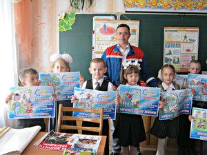 Ефремовские энергетики из филиала «Тулэнерго» рассказывают детям об электробезопасности