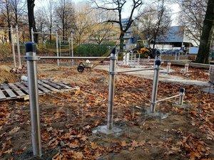 Первая спортивная площадка КЕНГУРУ ПРО в Европе из нержавеющей стали
