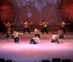 Прошел отчетный концерт ансамбля КАЛИНКА в Новокузнецке