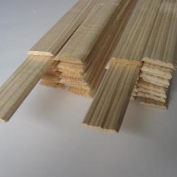 Продажа погонажных материалов из дерева