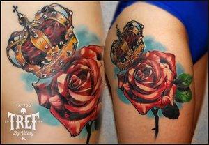 Сделать женскую татуировку в Орске