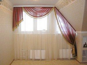 шторы для мансардных окон своими руками