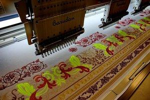Машинная вышивка на заказ, оцифровка-разработка дизайнов вышивки.