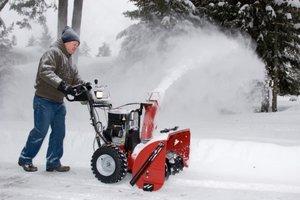 Где выгодно купить снегоуборщик в Оренбурге?