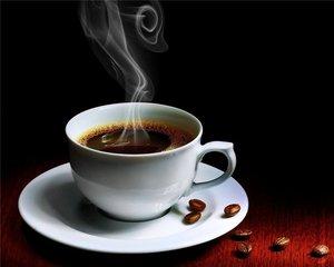 Чашка ароматного кофе в подарок.