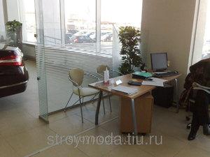 Офисные перегородки в Красноярске и перегородки из стекла