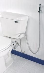 Как совместить унитаз и биде в маленькой ванной? Это возможно! Гигиенический душ для туалета