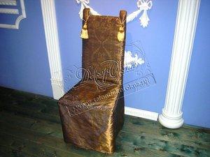 Небольшая подборка фотографий наших работ с чехлами на стулья в дополнение к шторам