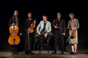 Александр Маноцков и ансамбль «Courage Quartet»