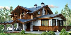 Строительство домов из арболита под ключ в Вологде