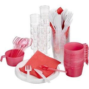 Купить одноразовую пластиковую посуду в Череповце