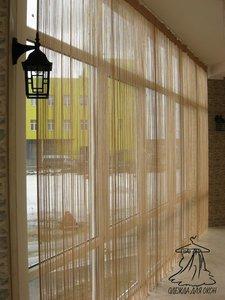 Пошив нитяных штор в Череповце