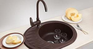 Компания Формат - официальные дилер кухонных моек из саянского мрамора Granicom.