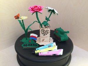 Мастер-класс 3Д цветок